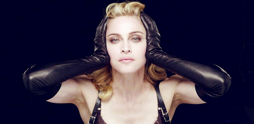 "Never-Before-Seen Unretouched ""Nobody Knows me"" MDNA Tour Backdrop Video"