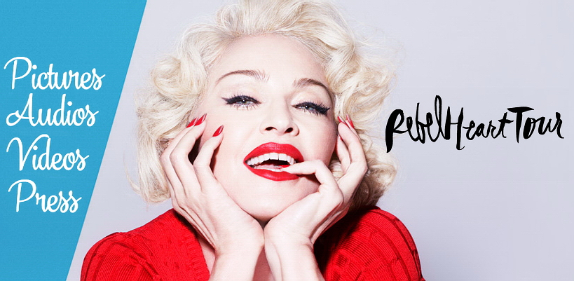The Rebel Heart Tour: All the videos, pictures & reviews!