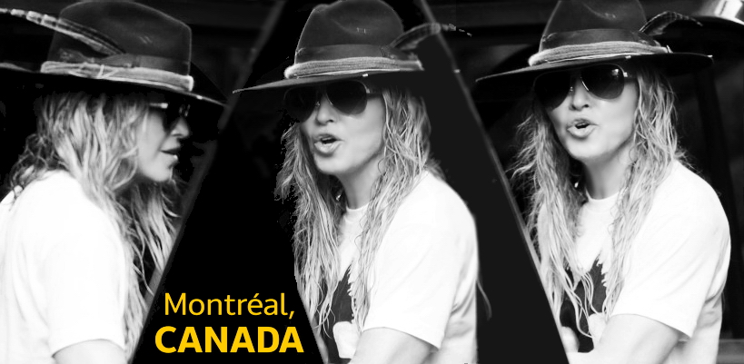 Madonna leaves the St-James Hotel in Montreal [7 September 2015 - Pictures & Video]