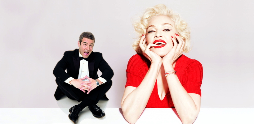 [Update: Full interview added] One-on-One Madonna interview with Andy Cohen on SiriusXM