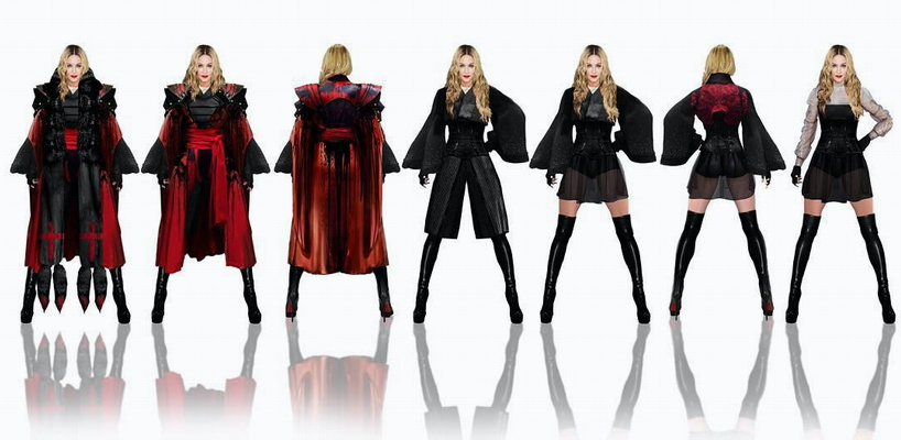 The Rebel Heart Tour Fashion Report