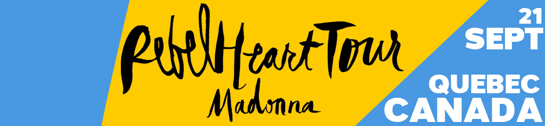 Rebel Heart Tour Québec 21 September 2015