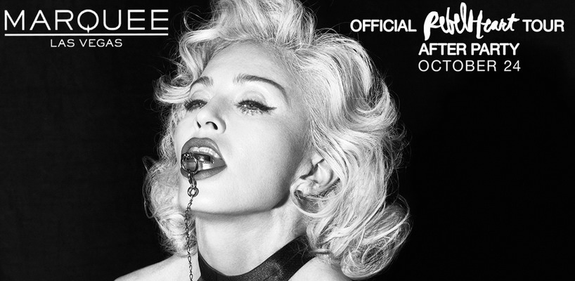 Win tickets to Attend Madonna's After Show Party in Las Vegas!