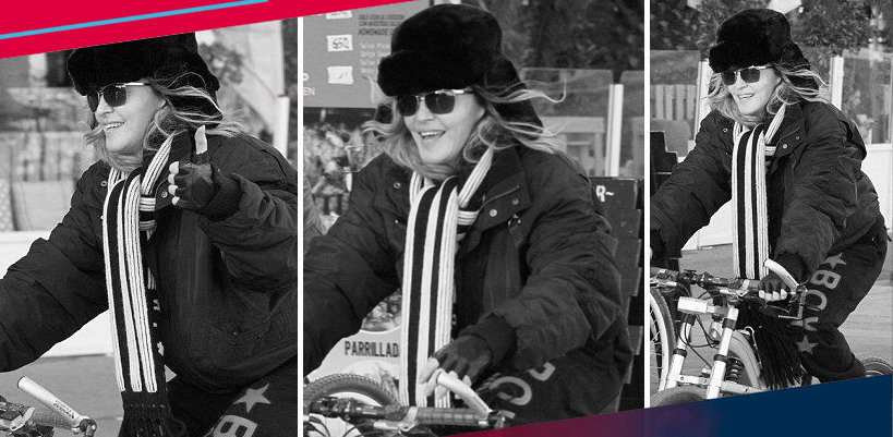 Madonna out and about in Turin & Barcelona [18, 22 & 23 November 2015]