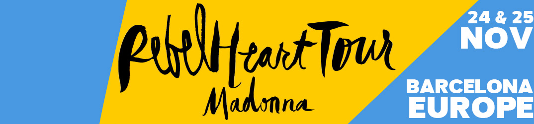 Rebel Heart Tour Barcelona 24-25 November 2015