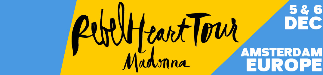Rebel Heart Tour Amsterdam 5 & 6 December 2015