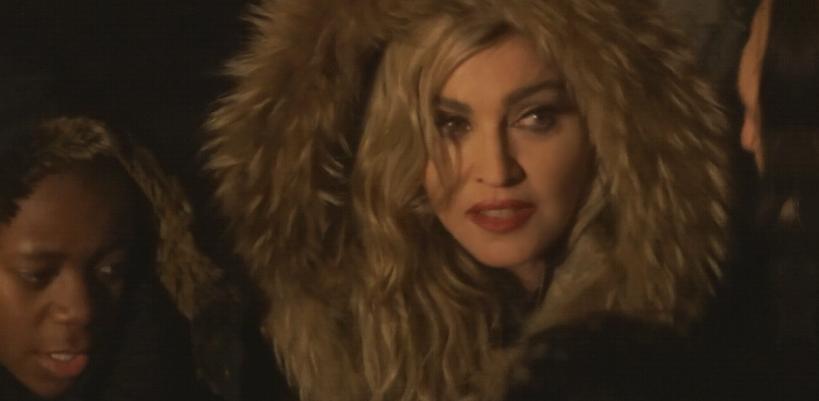 Madonna performs 3 acoustic songs at Place de la République, Paris
