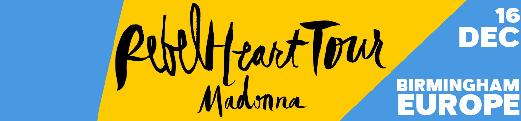 Rebel Heart Tour Birmingham 16 December 2015
