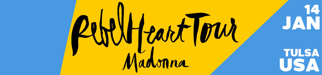 Rebel Heart Tour Tulsa 14 January 2016