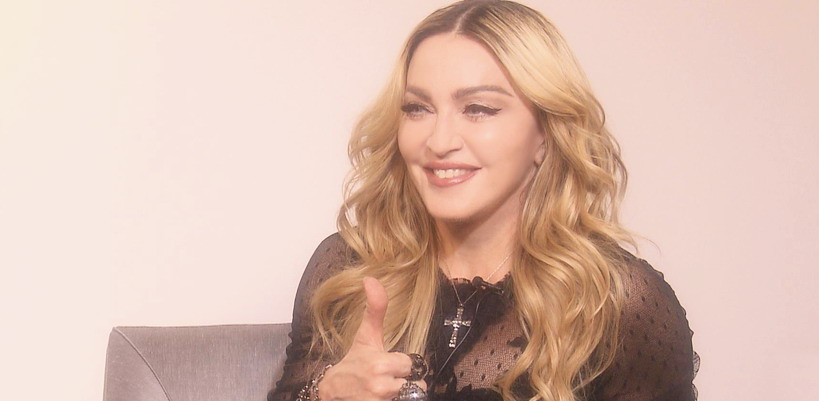 Exclusive Madonna interview for Japanese News Zero [18 February 2016]