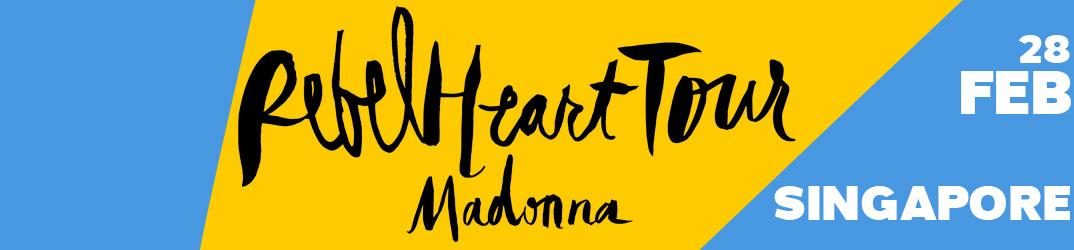 Rebel Heart Tour Singapore 28 February 2016