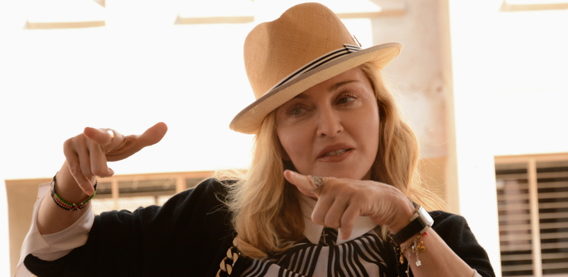Madonna visits Queen Elizabeth Central Hospital in Blantyre, Malawi [10 July 2016]