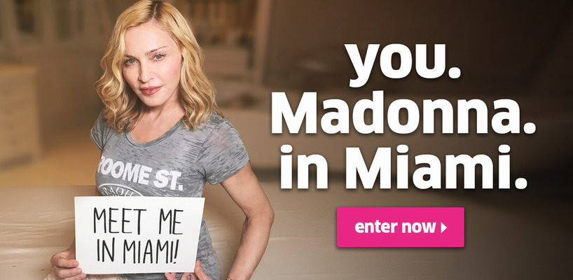 Madonna Launches Fundraising Campaign with Omaze