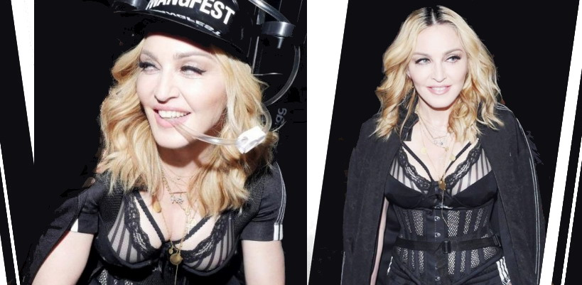 Madonna at the Alexander Wang Fashion Show, New York [10 September 2016 – Pictures & Videos]