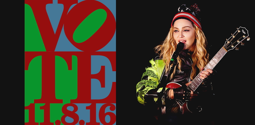 Madonna performs 5 acoustic songs at Washington Square Park, New York [7 November 2016 - Pictures & Video]