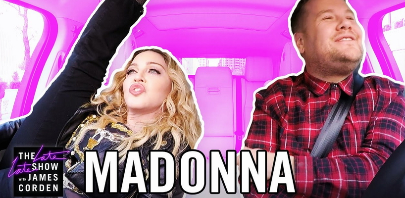 Madonna's Carpool Karaoke with James Corden [Full video]