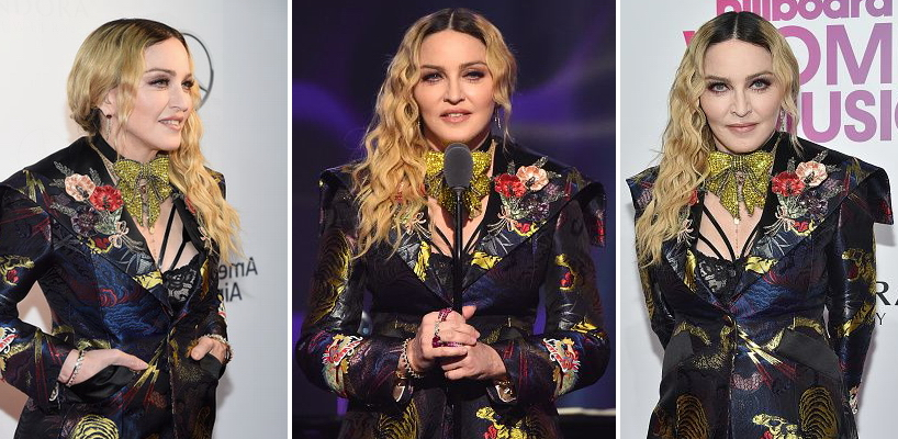 Madonna at Billboard Women in Music 2016 [9 December 2016 – Pictures & Videos]