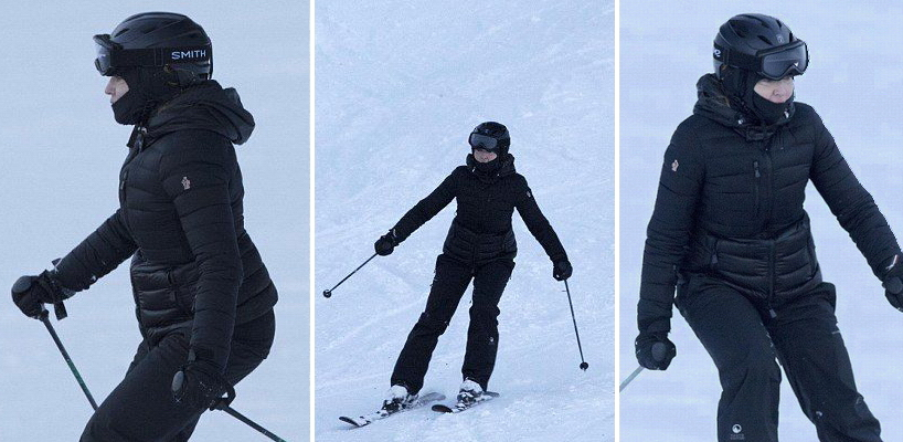 Madonna skiing in Verbier, Switzerland [29 December 2016 – Pictures]