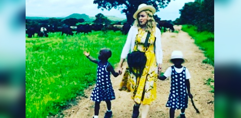 Madonna admits to adopting twin sisters from Malawi
