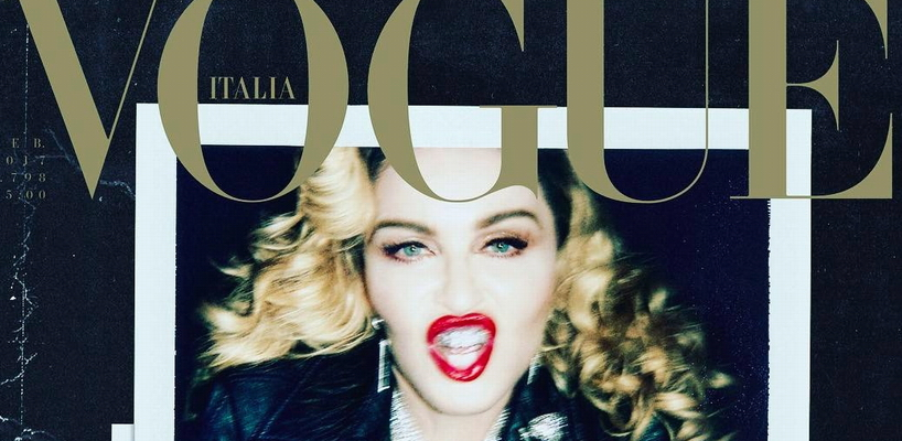 [Update: Magazine scans added] Madonna by Steven Klein for Vogue Italia (February 2017 issue)