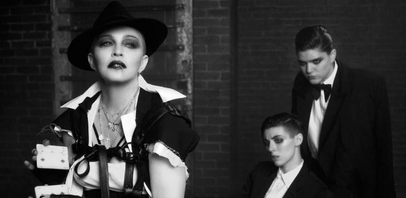 """Madonnna """"We should all be feminists"""" 12-minute film by Luigi and Iango"""
