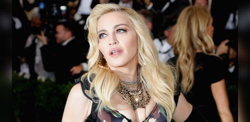 Madonna attends the Met Gala at the Metropolitan Museum of Art in New York [1 May 2017 - Pictures & Videos]