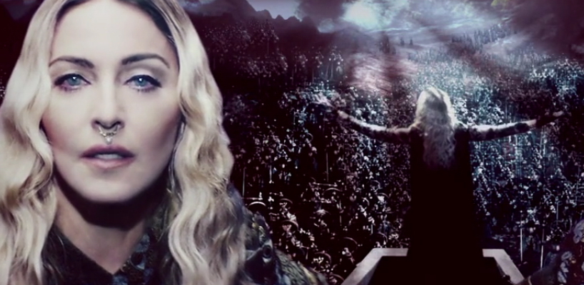 "Madonna ""Iconic"" Rebel Heart Tour Backdrop Video"
