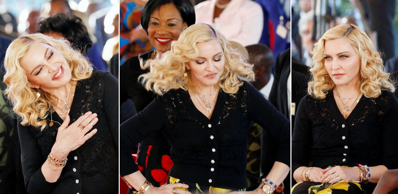Madonna attends The Mercy James Centre opening in Blantyre, Malawi [11 July 2017 – Pictures & Video]
