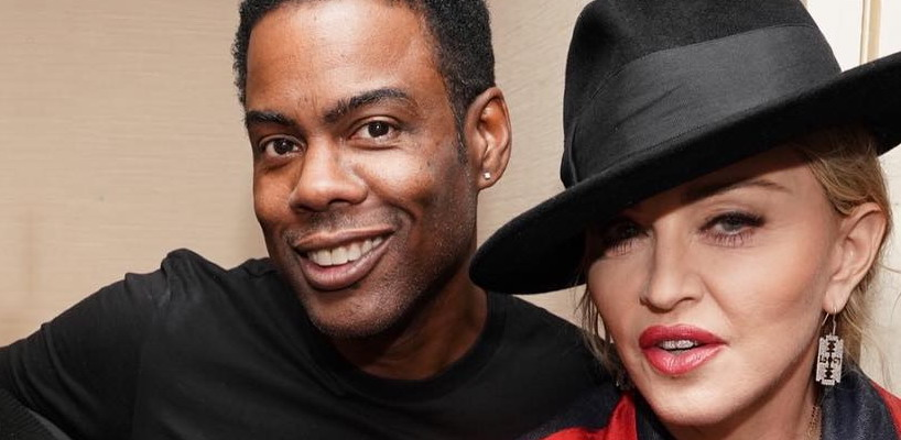 Madonna attends Chris Rock show at Madison Square Garden, New York [8 December 2017]