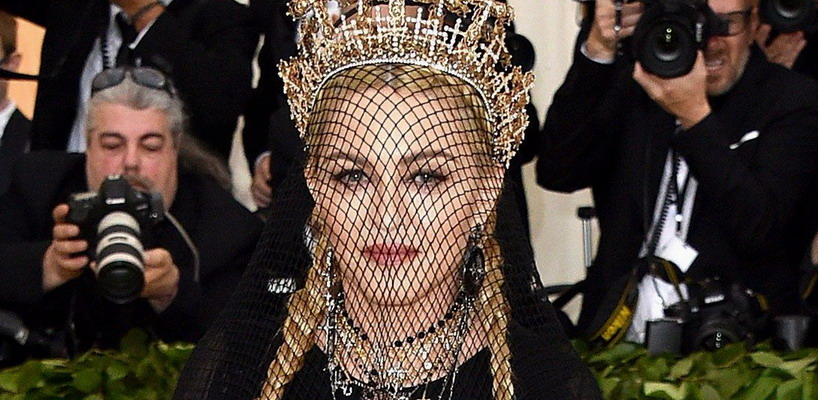 Madonna attends the Met Gala at the Metropolitan Museum of Art in New York [7 May 2018 - Pictures & Videos]