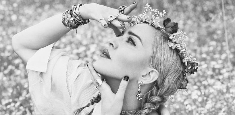 First look at Madonna by Mert Alas & Marcus Piggott for Vogue Italia [August 2018 Issue]