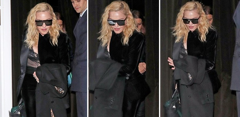 Madonna out and about in London [29 November 2018]