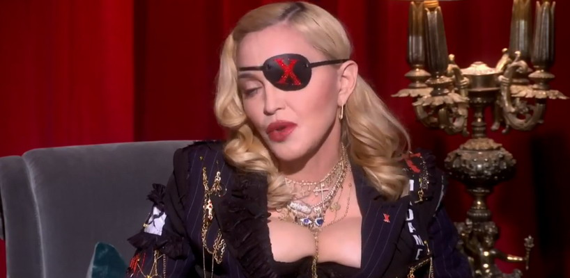 Madonna's Madame X interview with Trevor Nelson for MTV