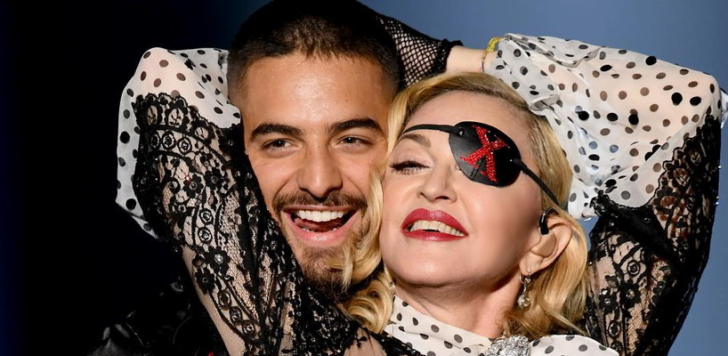 Madonna and Maluma at the Billboard Music Awards Dress Rehearsals [30 April 2019 – Pictures]