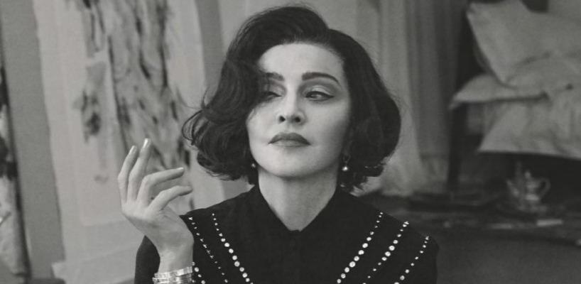 Madonna by Alas & Piggott for British Vogue [June 2019 issue – Pictures & Interview]