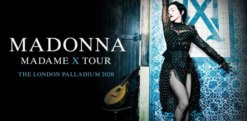 Madonna unveils Madame X Tour London Shows