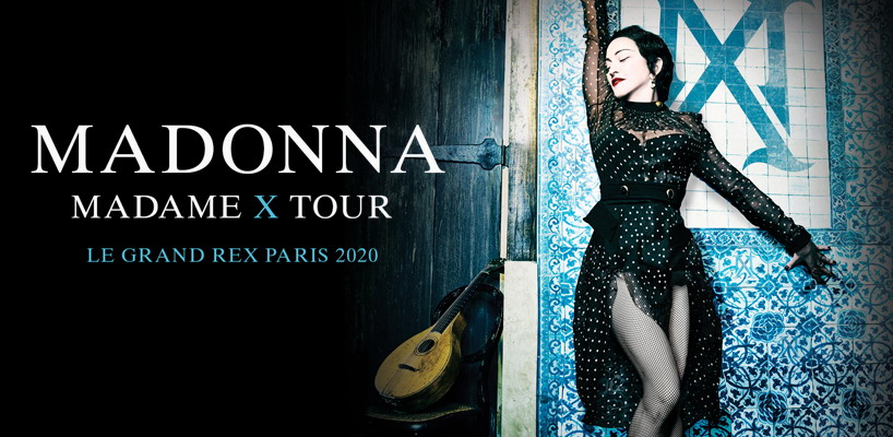 Madonna unveils Madame X Tour Paris Shows