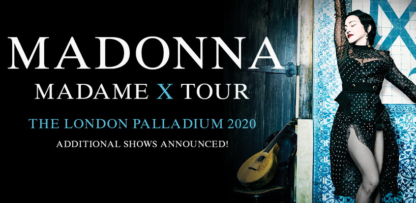Madame X Tour – Six Additional London Dates Announced