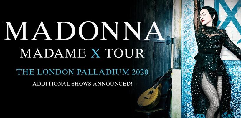 Madame X Tour – Six Additional London Dates Announced | Madonnarama