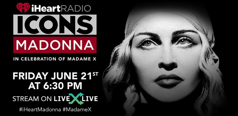 Exclusive iHeartRadio concert with Madonna to be streamed