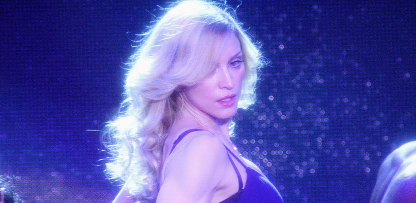 """Madonna releases pro-shot video of """"Hung Up"""" live at Coachella 2006"""