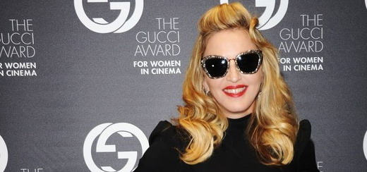 Madonna at the Gucci Award for Women in Cinema [Video – 100% Madonna]