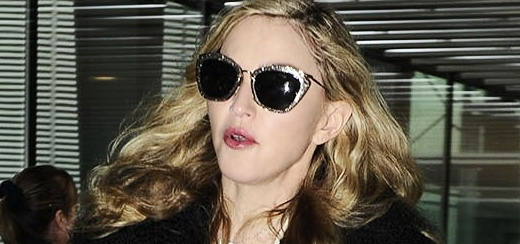 Madonna at Heathrow airport, London [4 Sept 2010 – HQ pictures]