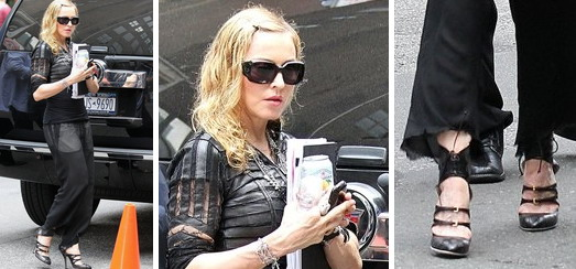 Madonna out and about in New York [27 September 2011 - HQ Pictures]