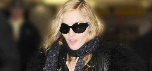 Madonna arrives at JFK airport, New York [21 October 2011 - HQ pictures]