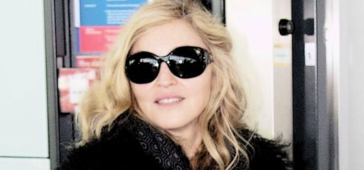 Madonna at Heathrow airport, London [24 October 2010 – HQ pictures]
