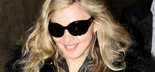 Madonna at JFK airport, New York [24 October 2011 - HQ Pictures]