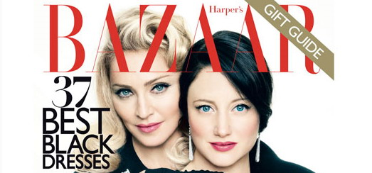 Madonna on the cover of Harper's Bazaar: Cover revealed