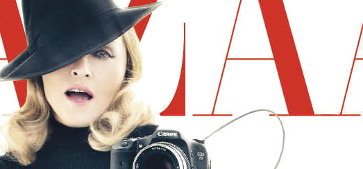 Madonna on the Cover of Harper's Bazaar [December 2011 - HQ]