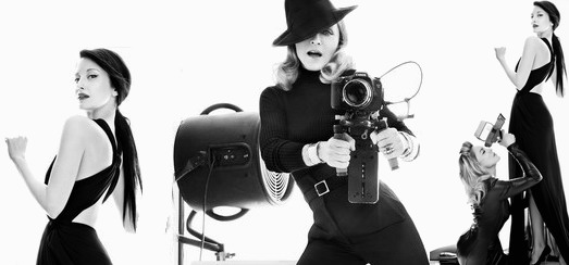 Madonna for Harper's Bazaar by Tom Munro [3 Unseen Outtakes]